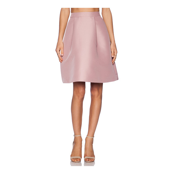 KATE SPADE NEW YORK Pleated a line skirt - Shell: 100% polyLining: 95% poly 5% spandex. Dry clean...