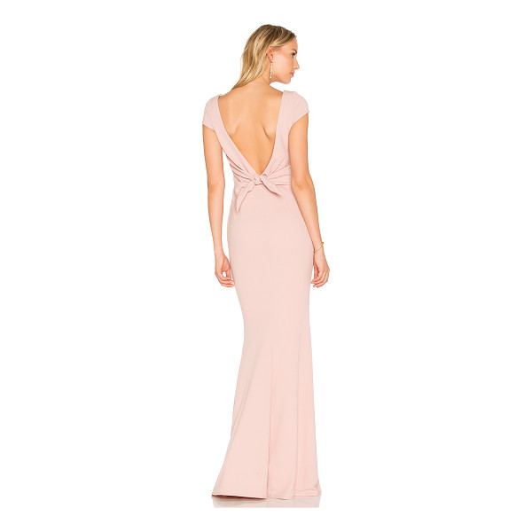 KATIE MAY Intrigue Gown - Self: 97% poly 3% spandexLining: 100% poly. Dry clean only....