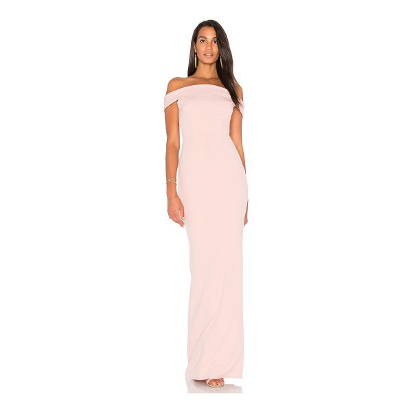 KATIE MAY Legacy Gown - Self: 97% poly 3% spandexLining: 100% poly. Dry clean only....