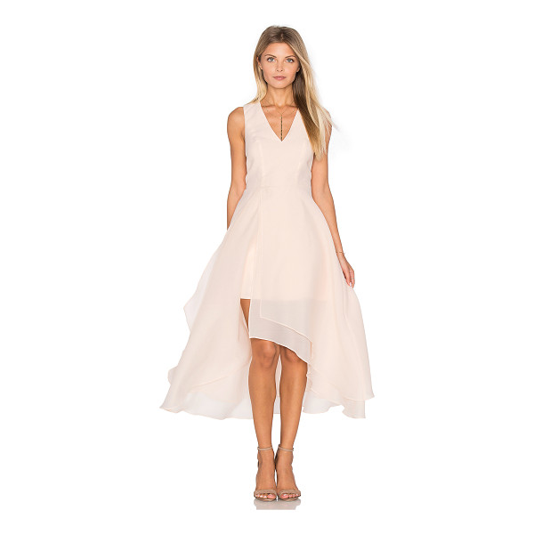 KEEPSAKE All Yours Dress - Self: 70% rayon 30% polyLining: 100% poly. Hand wash cold....