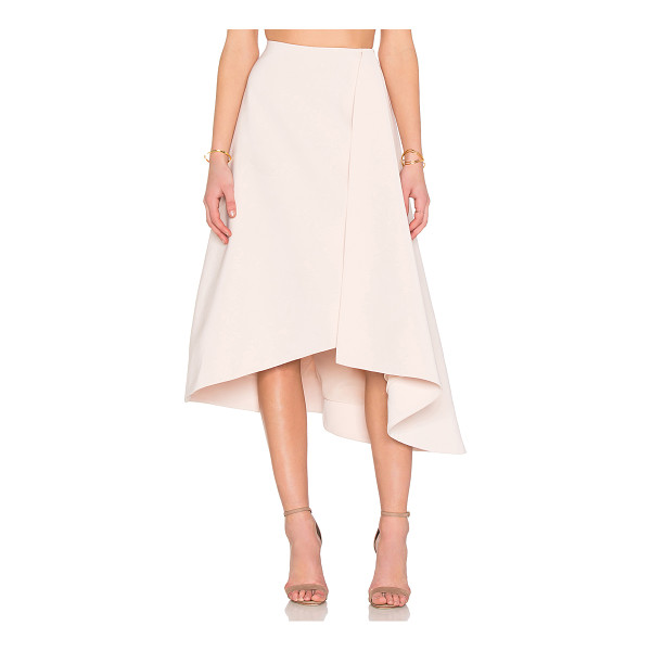 KEEPSAKE Scribe Skirt - Self & Lining 100% poly. Hand wash cold. Fully lined....