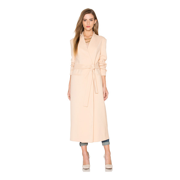 KEEPSAKE Take Two Coat - Cotton blend. Dry clean only. Magnetic front closures....