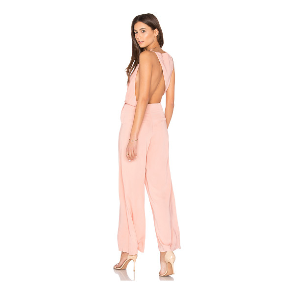 KEEPSAKE Without You Jumpsuit - Self & Lining: 100% poly. Hand wash cold. Surplice...