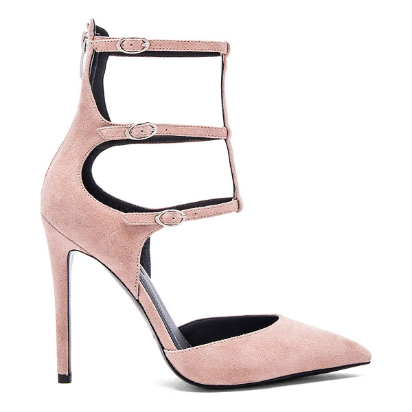 KENDALL + KYLIE Alisha heel - Suede upper with man made sole. Multi ankle straps with...