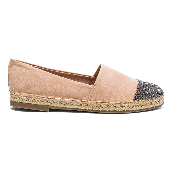 KENDALL + KYLIE Corey Flat - Textile faux suede upper with man made sole. Slip-on...