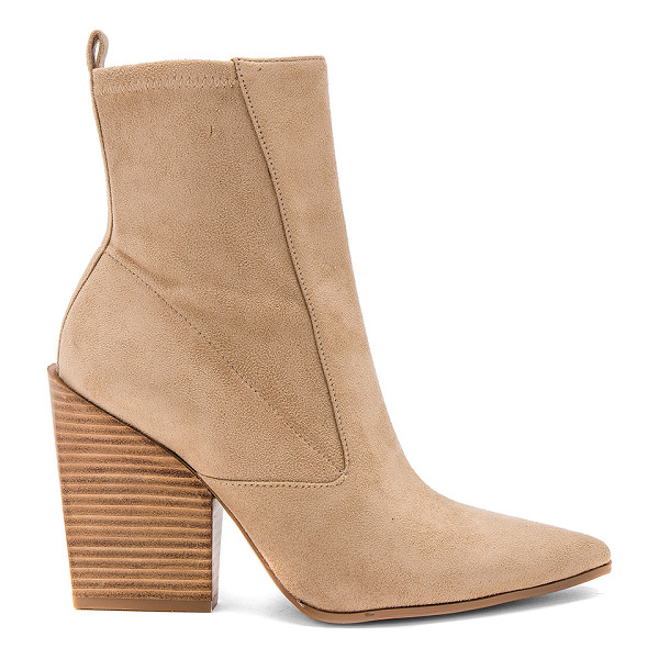 "KENDALL + KYLIE Fallyn Bootie - ""Faux suede upper with man made sole. Side zip closure...."