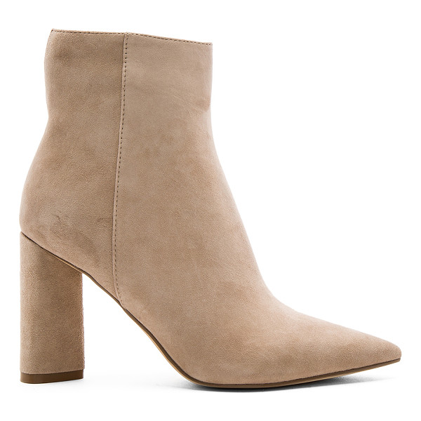KENDALL + KYLIE Gemma Bootie - Suede upper with man made sole. Side zip closure. Back seam...