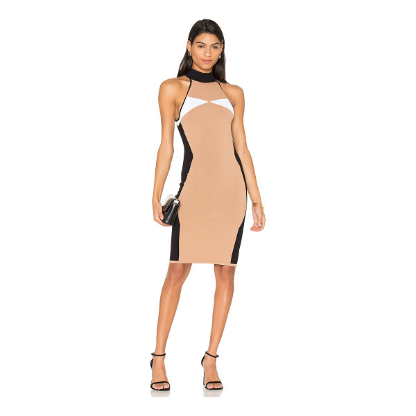 KENDALL + KYLIE Illusion Dress - 65% viscose 35% nylon. Hand wash cold. Unlined. Knit...