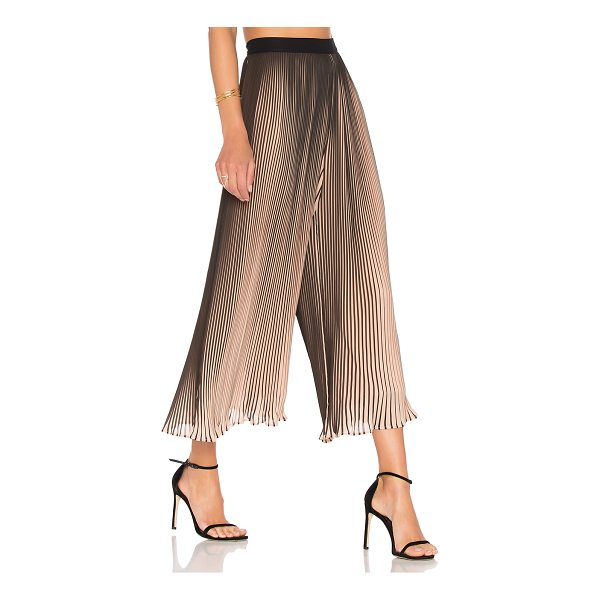 KENDALL + KYLIE Pleated Pant - Whisked away with a wide leg fit, KENDALL + KYLIE's Pleated...