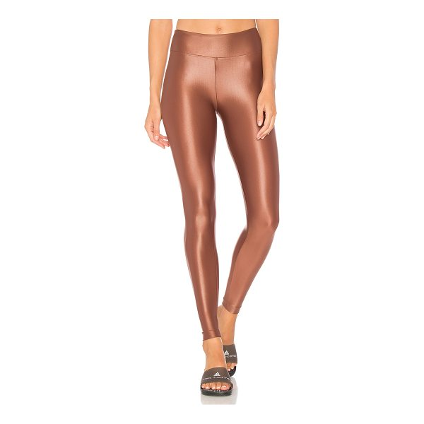 KORAL ACTIVEWEAR Lustrous High Rise Legging - 85% polyamide 15% spandex. Stretch fit. Water and chlorine...