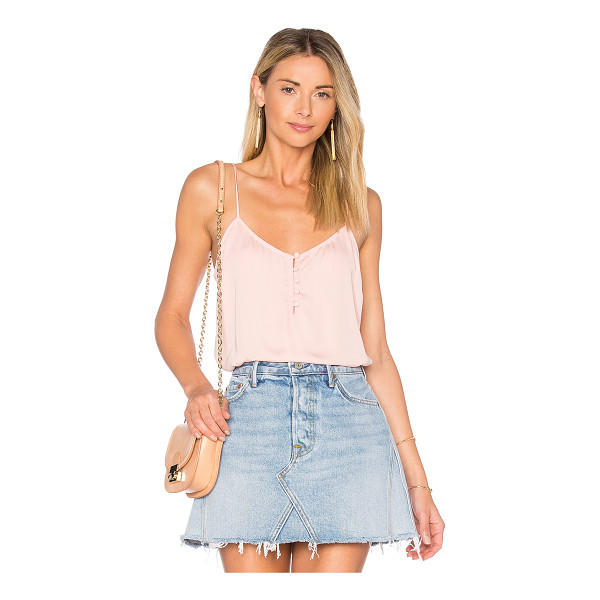 L'ACADEMIE x REVOLVE The Button Cami - A closet staple gets a re-do with The Button Cami by...