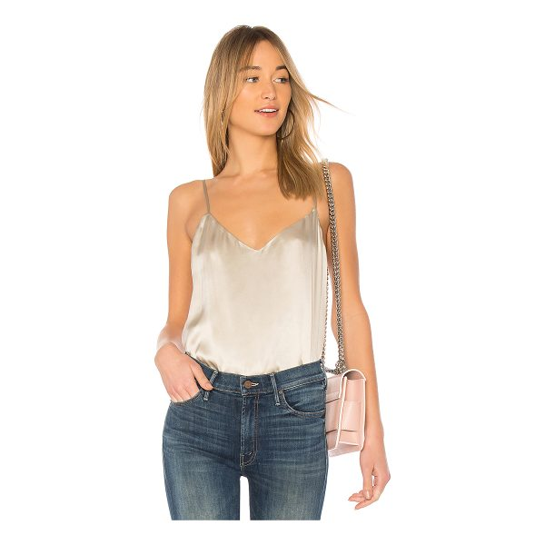 L'AGENCE Jane Top - Self & Lining: 100% silk. Dry clean only. Adjustable...