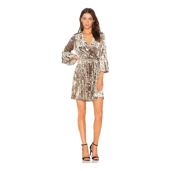 L'AGENCE Riley Wrap Dress - 90% poly 10% spandex. Dry clean only. Unlined. Wrap front...