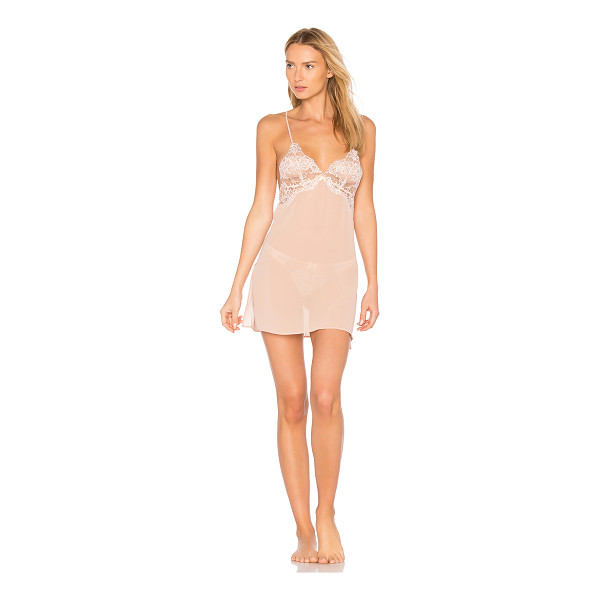 L'AGENT BY AGENT PROVOCATEUR Angelica Slip - Shell: 53% poly 47% polyamideContrast: 100% poly. Hand...