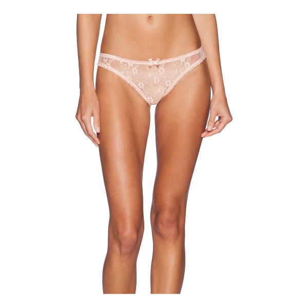 L'AGENT BY AGENT PROVOCATEUR Monica mini brief - 53% poly 47% polyamide. Hand wash cold. Elastic stretch...