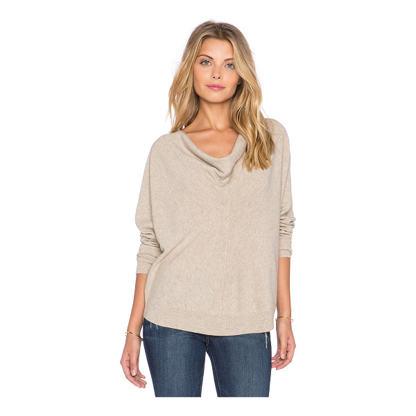 LAMADE Liberty cowl neck sweater - 100% cashmere. Hand wash cold. Front button closure. Draped...