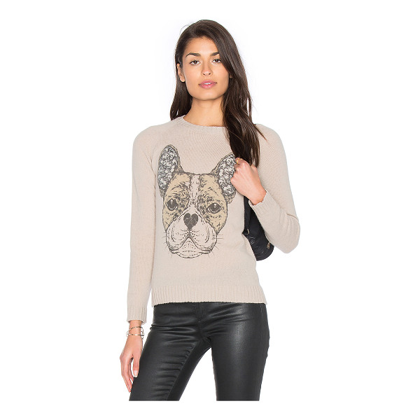 LAUREN MOSHI North Cashmere Sweater - 100% cashmere. Dry clean recommended. Front graphic detail....