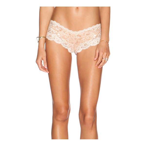 LES COQUINES Evi lace cheeky underwear - 90% nylon 10% spandex. Hand wash cold. Stretch fit....