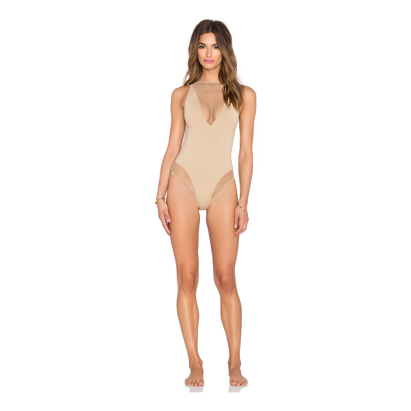 LES COQUINES Lara mesh swimsuit - Self: 82% nylon 18% spandexLining: 100% cotton. Hand wash...