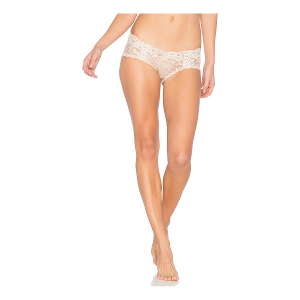 LES COQUINES Lola Boyshort - Nylon blend. Hand wash cold. Stretch fit. Delicate allover...