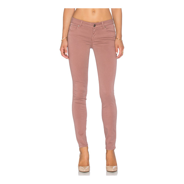 LEVEL 99 Liza skinny - 51% cotton 38% lyocell 8% rayon 3% spandex. Front and back...