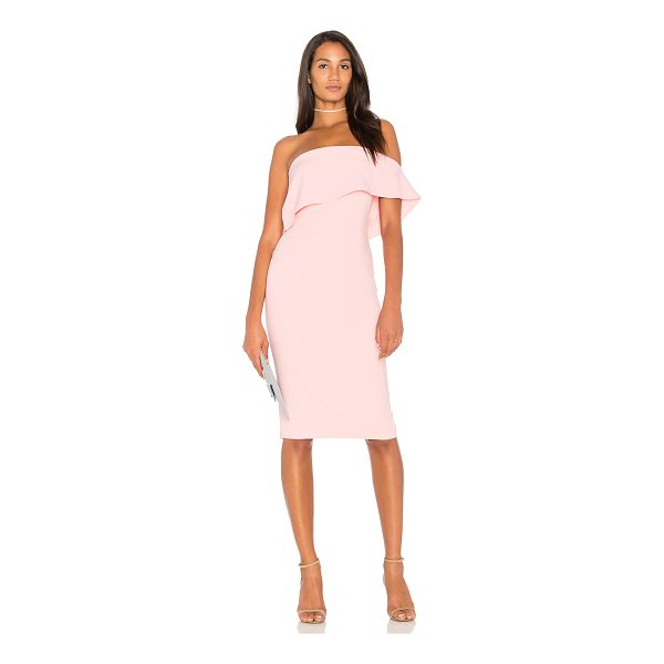 """LIKELY Driggs Dress - """"Self: 73% poly 22% rayon 5% spandexLining: 100% poly. Dry..."""