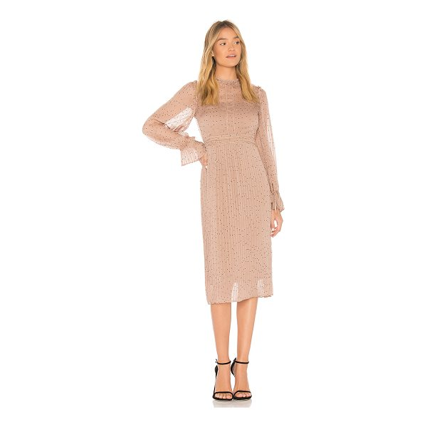 LINE & DOT Allegra Dress - Self & Lining: Poly blend. Hand wash cold. Fully lined....