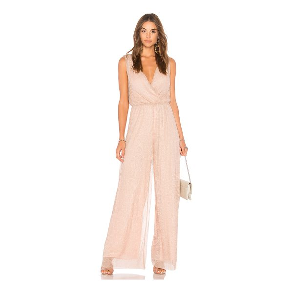 "LINE & DOT Doux Jumpsuit - ""Self: 97% poly 3% spandexLining: 100% poly. Dry clean..."