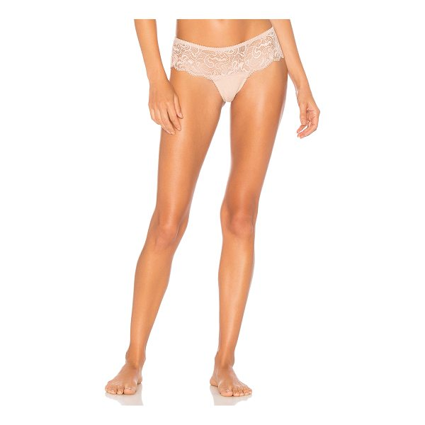 LONELY Penny French Brief - Self: 87% nylon 13% spandexContrast: 100% cotton. Hand wash...