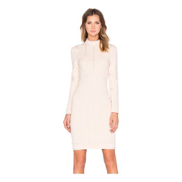 LOVE MOSCHINO Seamed dress - 69% viscose 25% polyamide 6% elastane. Dry clean only....