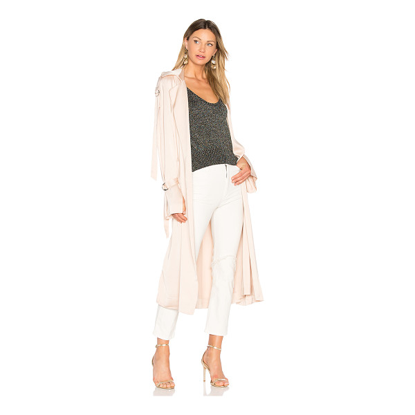 LOVER Anise Trench - Draped in dusty appeal, Lover's Anise Trench takes...