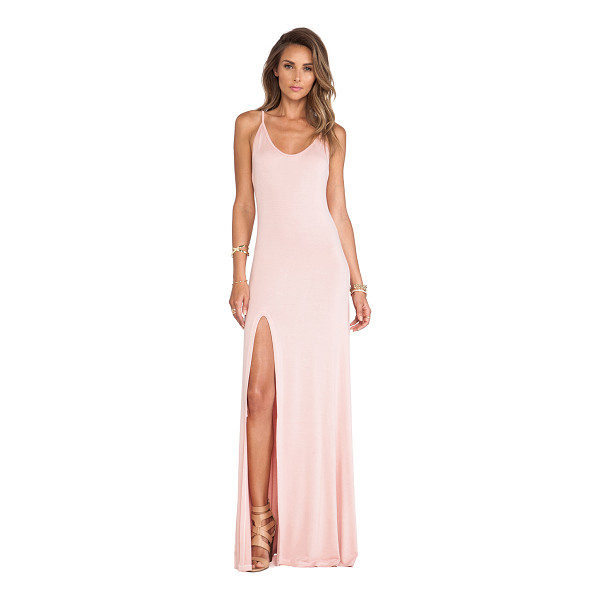 """LOVERS + FRIENDS Another girl maxi dress - Cotton blend. Neckline to hem measures approx 60"""""""" in..."""