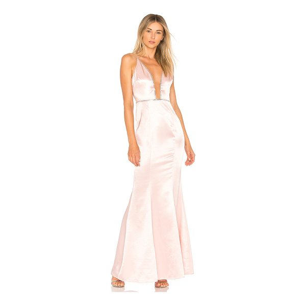 LOVERS + FRIENDS Blair Gown - Steal the spotlight with Lover + Friends? Blair Gown. Silky...
