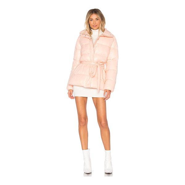 LOVERS + FRIENDS Cold Night Puffer - Self: 100% nylonLining & Padding: 100% poly. Hand wash...