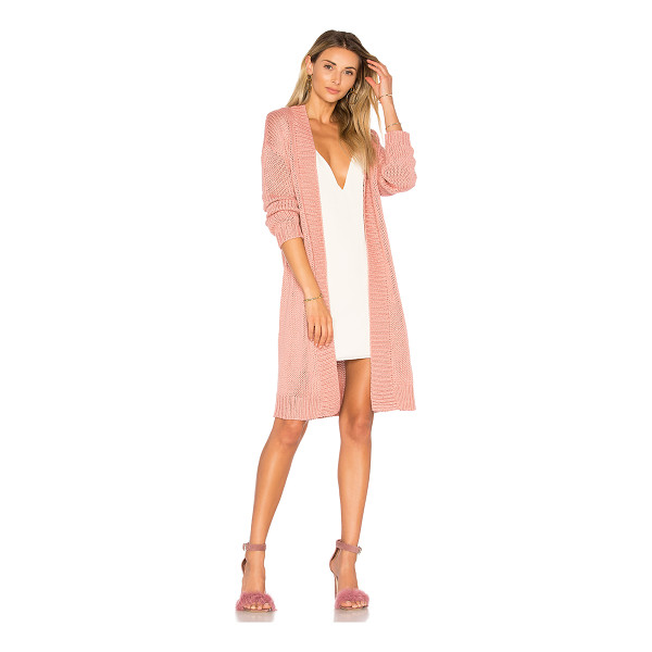 LOVERS + FRIENDS Cozy Cardigan - Stay cool, stay cozy. Lovers + Friends' Cozy Cardigan is...