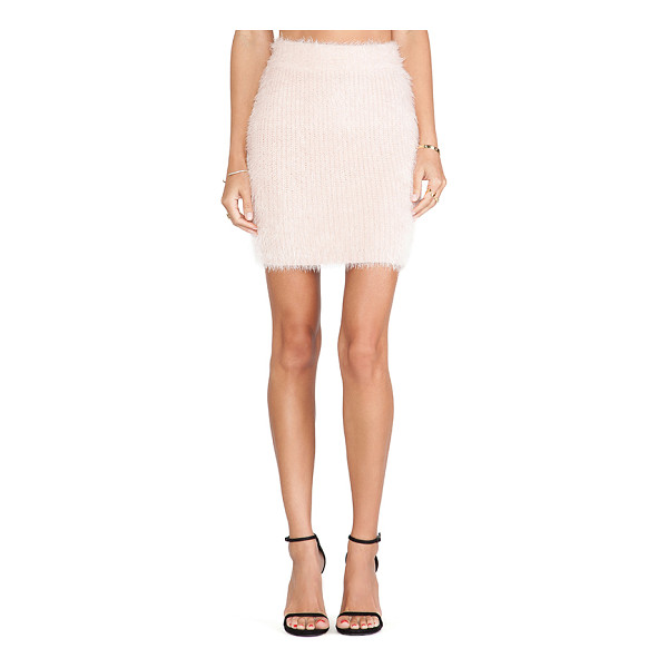 """LOVERS + FRIENDS Dolly skirt - 64% nylon 36% acrylic. Unlined. Skirt measures approx 18""""""""..."""