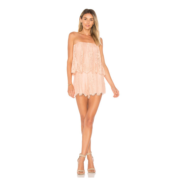 "LOVERS + FRIENDS Kristine Romper - ""Summer parties don't need much but the Kristine Romper...."