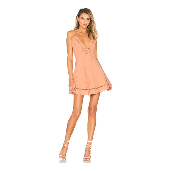 "LOVERS + FRIENDS Sadie Mini - ""Laced up and ready to go. The Sadie Mini Dress by Lovers +..."