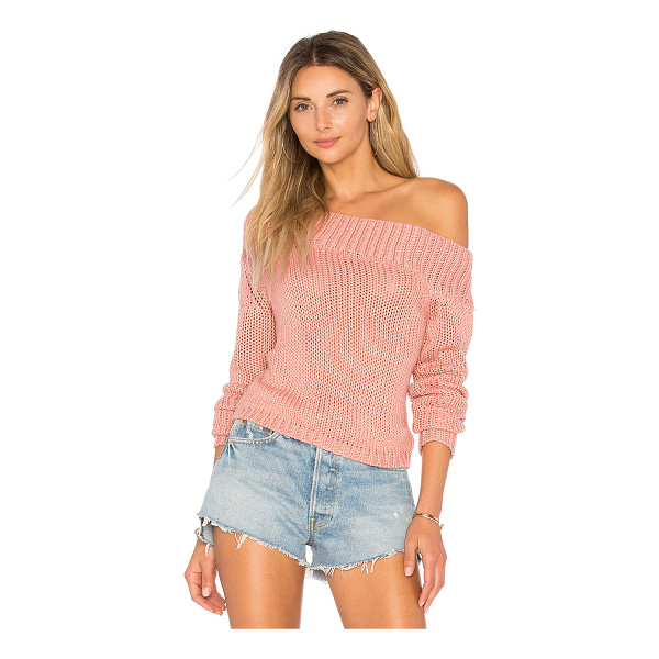 LOVERS + FRIENDS Sandy Beach Crop Sweater - Even beach days call for a cozy cover up. Enter Lovers +...