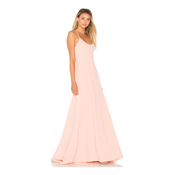 LOVERS + FRIENDS Brantford Gown - Gala ready in the Brantford Gown. Delicate shoulder straps...