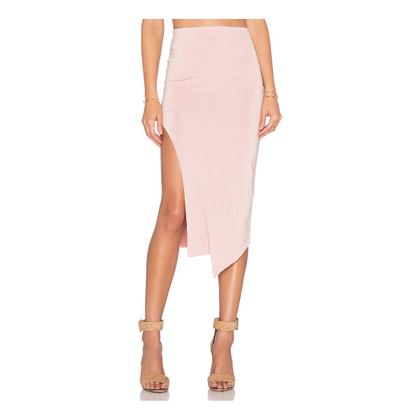 "LOVERS + FRIENDS X revolve bridgette midi skirt - Poly blend. Dry clean only. Skirt measures approx 27"""" in..."