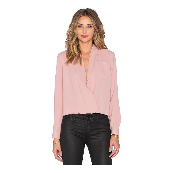 LOVERS + FRIENDS x REVOLVE Get Down Blouse - 100% poly. Hand wash cold. Front snap button closure....