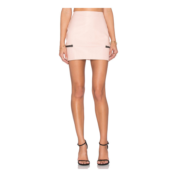 LOVERS + FRIENDS x REVOLVE Good To Be Bad Mini Skirt - Self: 57% polyurethane 45% polyLining: 95% poly 5%...