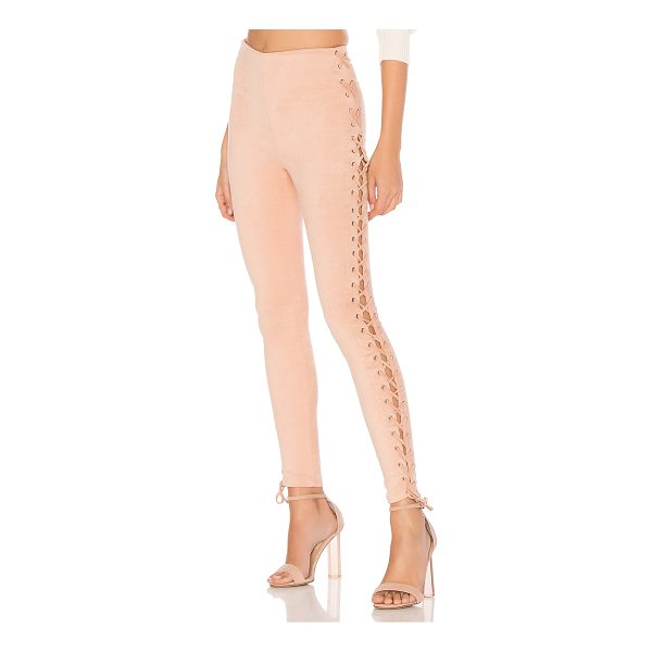 "LOVERS + FRIENDS x REVOLVE Laced and Lovely Legging - ""True to their name, the Lovers + Friends x REVOLVE Laced..."