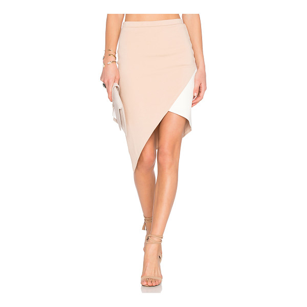 LOVERS + FRIENDS X revolve mademoiselle skirt - Cotton blend. Partially lined. Stretch fit. Skirt measures...