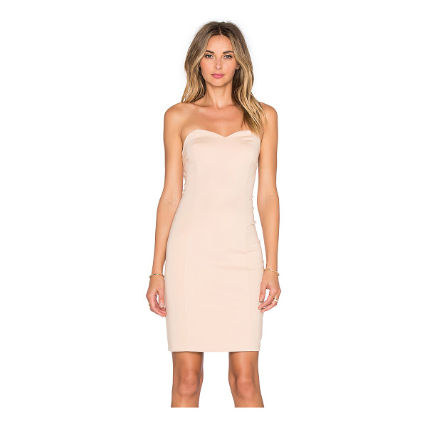LOVERS + FRIENDS X revolve strapless staple dress - Shell: 66% rayon 30% nylon 4% elastaneLining: 90% poly 10%...