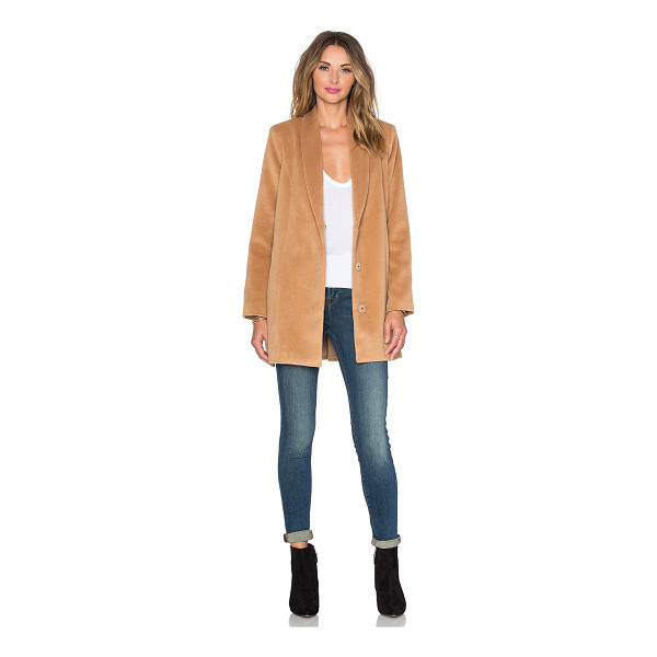 LOVERS + FRIENDS X revolve the everyday coat - Self: 85% poly 15% viscoseLining: 97% poly 3% elastane....