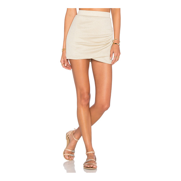 "LOVERS + FRIENDS x REVOLVE x Alexis Ren Voyage Skirt - ""Lurex blend. Hand wash cold. Unlined. Elastic waist...."