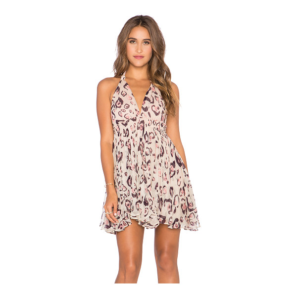 LOVESHACKFANCY Halter mini dress - Self: 100% rayonLining: 100% poly. Dry clean only. Fully...