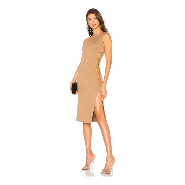 LPA x REVOLVE Dress 571 - Single-shoulder necklines offer an edgy asymmetric shape to...